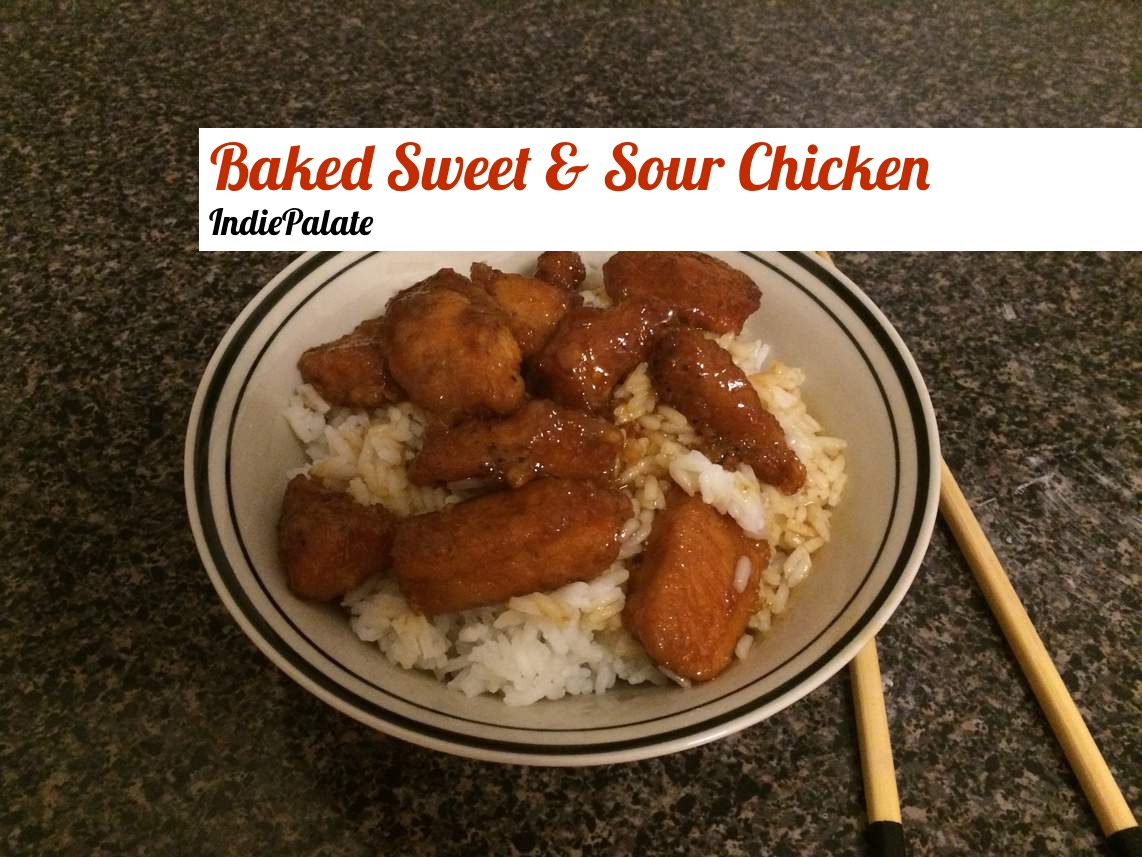 Baked Sweet and Sour Chicken - IndiePalate